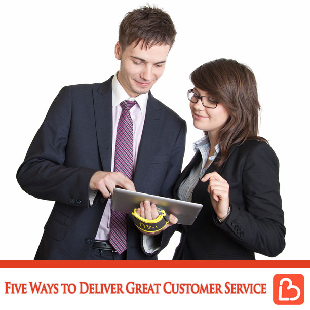 Five Ways to Deliver Great Customer Service