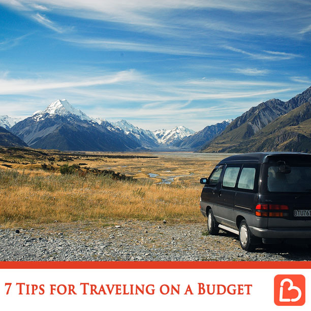 7 Tips for Traveling on a Budget