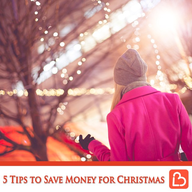 5 Tips to Save Money for Christmas